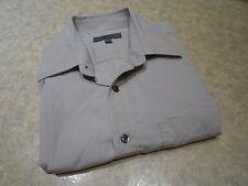 G2000 Uomo Formale Camicia 16/34 Grigio Business Look Cotone/Poliestere