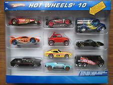 "2006 HOT WHEELS   10 CAR SET WITH ""RARE"" LUNA LU DAIRY VAN AND FERRARI  NICE"