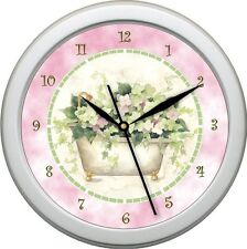 "Personalized Tub Time #2 Bathroom Decor 10.75"" Wall Clock Gift"