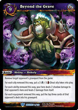 WOW WARCRAFT TCG WAR OF THE ANCIENTS : BEYOND THE GRAVE X 3