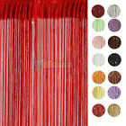 Upick STRING CURTAIN with BEAD SEQUIN SPANGLE FRINGE PANEL ROOM DOOR DIVIDER