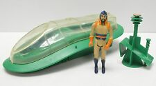 Flash Gordon Mattel 1979 MING's SHUTTLE vehicle Spaceship with action figure