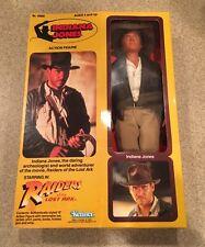 """1981 Vintage 12""""  Indiana Jones Large Doll Kenner Raiders Lost Ark MIB Figure"""