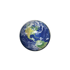 Earth - Planet - Globe - Metal Lapel Hat Pin Tie Tack Pinback