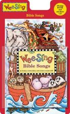 Wee Sing Bible Songs (Wee Sing) CD and Book Edition, New, Free Shipping