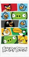 ANGRY BIRDS WHITE PRINTED BEACH TOWEL BRAND NEW GIFT FREE P+P