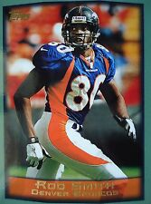 NFL 118 Rod Smith Denver Broncos Topps 1999