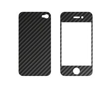 Carbon Cover for Iphone 4 Frontplate + Backplate #489