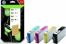 SET 4  HP  ORIGINAL INK HP 364XL BLACK CN684EE + HP 364 CYAN MAGENTA YELLOW