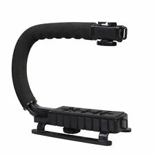 C-shaped Bracket Holder Stabilizer For DSLR Camera Gopro Hero 5 4 3 2 Camcorder