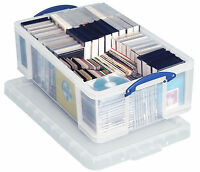 4 x  'REALLY USEFUL STORAGE BOXES' 50 LITRE - NEW +24h DEL