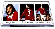 Manchester United Magnet George Best Eric Cantona Charlton Legend Football Gifts