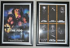 The Fog/Horror Montage A4 Framed Movie Pictures