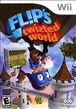 Flips Twisted World Nintendo Wii Brand New Sealed Kids Game WiiU Compatible