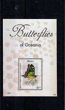 Palau 2013 Mnh Mariposas De Oceanía 1v S/s Insectos Swallowtail
