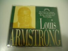 LOUIS ARMSTRONG CD PROMO 4 TITRES WHAT A WONDERFUL WORLD.MOOD INDIGO ...