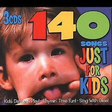 140 Songs Just For Kids (3-CD) New