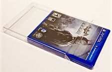 20 Custom Made PS VITA Box Protectors Clear Acid-Free Cases Sleeves Playstation