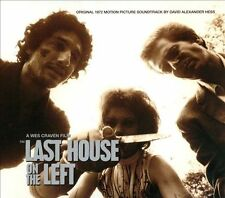 The Last House on the Left [Soundtrack] (CD, Oct-2013, One Way Static)