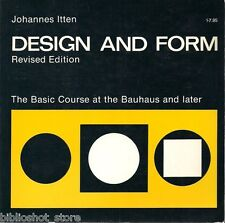 Design & Form: Basic Course at the Bauhaus & later, Architecture  Johannes Itten