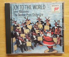 Joy to the World John Williams The Boston Pops Orchestra CD Sony Classical