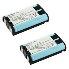2 Home Phone Battery for Panasonic KX-TG5230 KX-TG5240