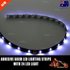 60cm 12V Waterproof White LED Strip Lights Bars Camping Caravan Boat Motorcycle