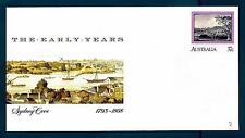 AUSTRALIA - 1988 - BUSTA - 37c - Sydney: I primi anni:1793-1808. By Sandra Baker
