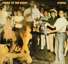 UTOPIA swing to the right AALP/BRK 3666 A1/B1 1st pressing uk 1982 LP PS VG+/VG