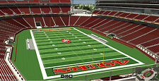 4 San Francisco 49ers SBL PSL Season Ticket Rights Sec 305 row 3 in YOUR NAME