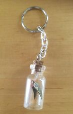 Harry Potter - Golden Snitch - Keyring - cork bottle charm - handmade