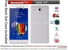 "Lenovo A616 5.5"" Android DUAL SIM Smartphone Mobile Quad Core 4G & 3G Unlocked"