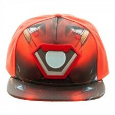 OFFICIAL MARVEL COMICS IRON MAN SUIT BALLISTIC SUBLIMATED SNAPBACK CAP (NEW)