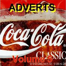 Commercials - TV Adverts Volume 5 1950's to today (NEW) (Audio CD)