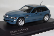 BMW Z3 M Coupe 2002 blau 1 of 528 1:43  Minichamps neu & OVP410029061