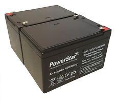 NEW 2pc 12V 12Ah SLA Battery WB12120F1 For UB12120, D5744 FREE USA SHIP
