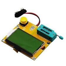 LCR-T4 Resistance Capacitor Diode SCR Transistor ESR Meter Tester 9V 128*64 LCD
