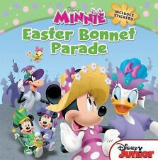 NEW MINNIE MOUSE EASTER BONNET PARADE Book Plus Stickers Disney Paperback Englis