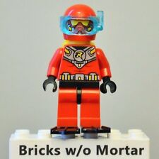 New Genuine LEGO Scuba Robin Minifig with Flippers DC Super Heroes 76027
