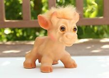 "Vintage Troll Cow : LARGE 6"" Tall VTG Dam Doll : 1960s Excellent Condition"