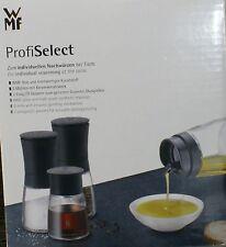 WMF Profi Select Gewürzmühlenset  4 tlg. inkl. Essig und Öl -Dosierer Neu