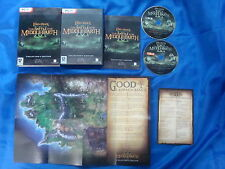 pc LORD Of The RINGS Battle For Middle Earth II 2 Collectors Edition + MAP MINT