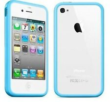 NEW Blue Bumper Case Cover for Apple iPhone 4 4G UK