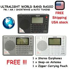 WORLD Band SHORTWAVE Radio FM AM MW LW SW DSP Portable w/ Automatic Search *NEW*