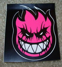"SPITFIRE PINK Logo Skate Sticker 2.25 X 3"" skateboards helmets decal"