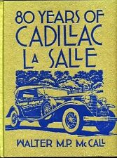 80 Years of Cadillac LaSalle by Walter M P McCall Crestline Book Harley Earl GM