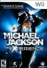 MICHAEL JACKSON: THE EXPERIENCE  --  Nintendo Wii Game Complete  *Guaranteed*