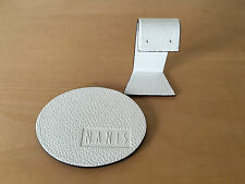 Used - Supports NANIS Italian Jewels Soportes  White Leatherette Polipiel Blanca