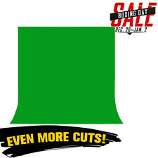 Green Screen Chroma key 3m x 1.6m Background Backdrop for Studio Photo Lighting