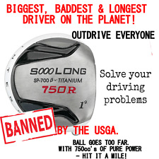 50 INCH NONCONFORMING ILLEGAL DRIVER 750CC HUGE BANNED ACCUFLEX SHAFT 9/10.5/12
